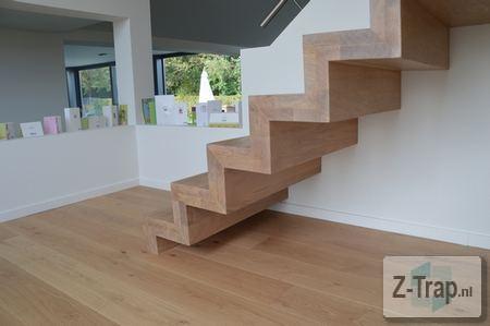 Z trap z trap for Dichte trap maken